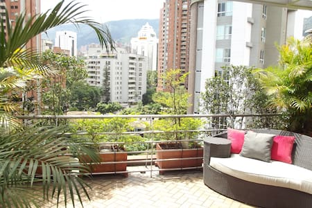 Great view and excellent location!! - Medellín - Leilighet