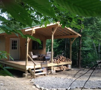 Cabin Creek Hide Away (Letchworth) + Waterfalls!