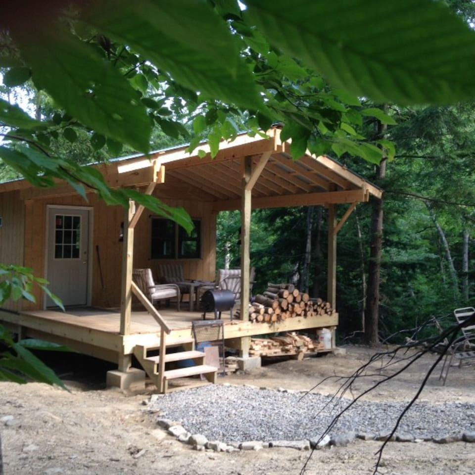 Cabin Creek Hide-Away is hidden deep in the woods!