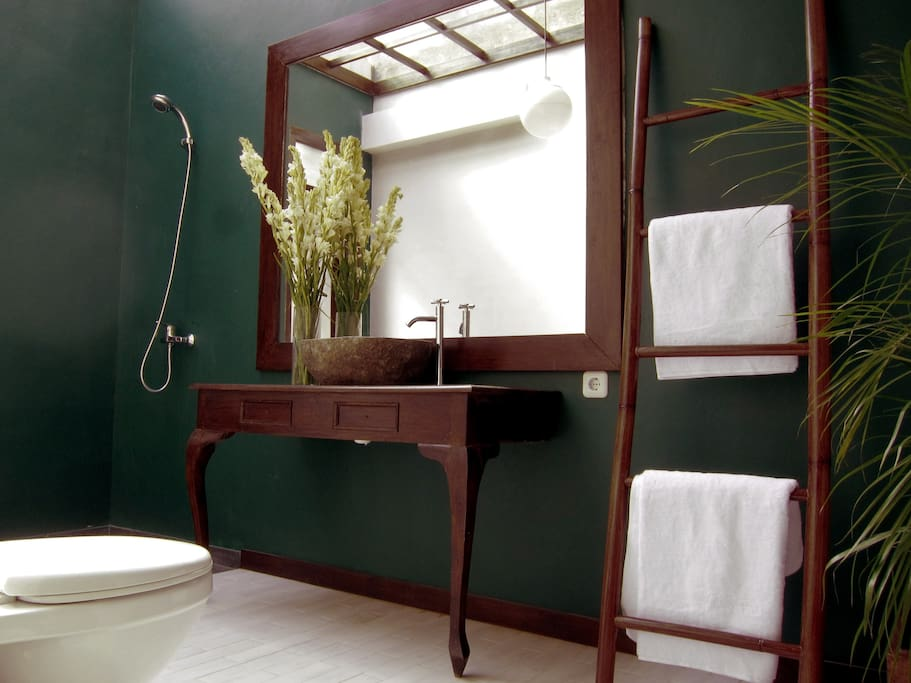 2x4 meter private attached bath room