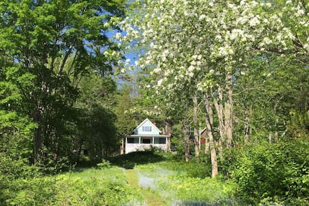 Cottage on Maine's Penobscot River - Verona Island - Huis