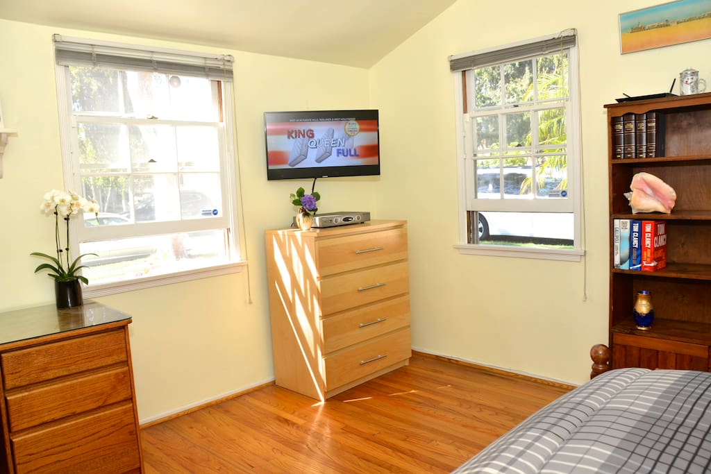 Your room also with a dresser & Cable TV, High Speed Internet.