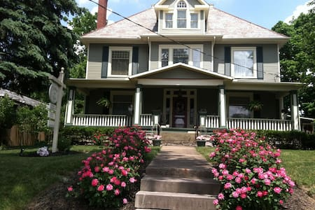 Beautiful 1902 Victorian B&B - Johnstown - Szoba reggelivel