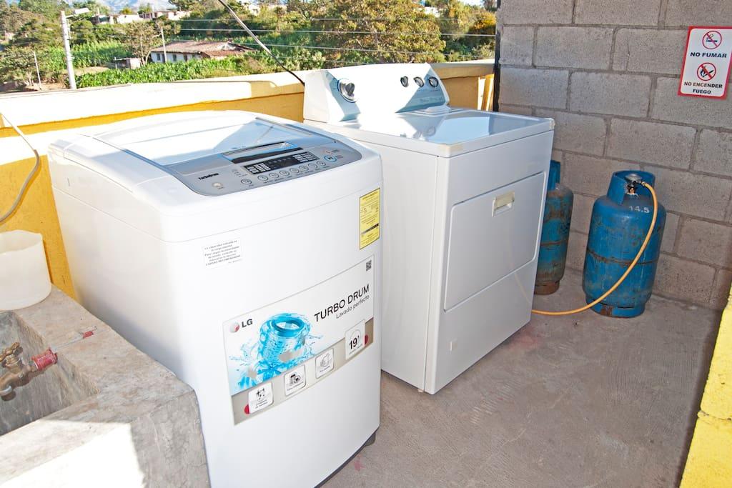 servicio de lavado y secado