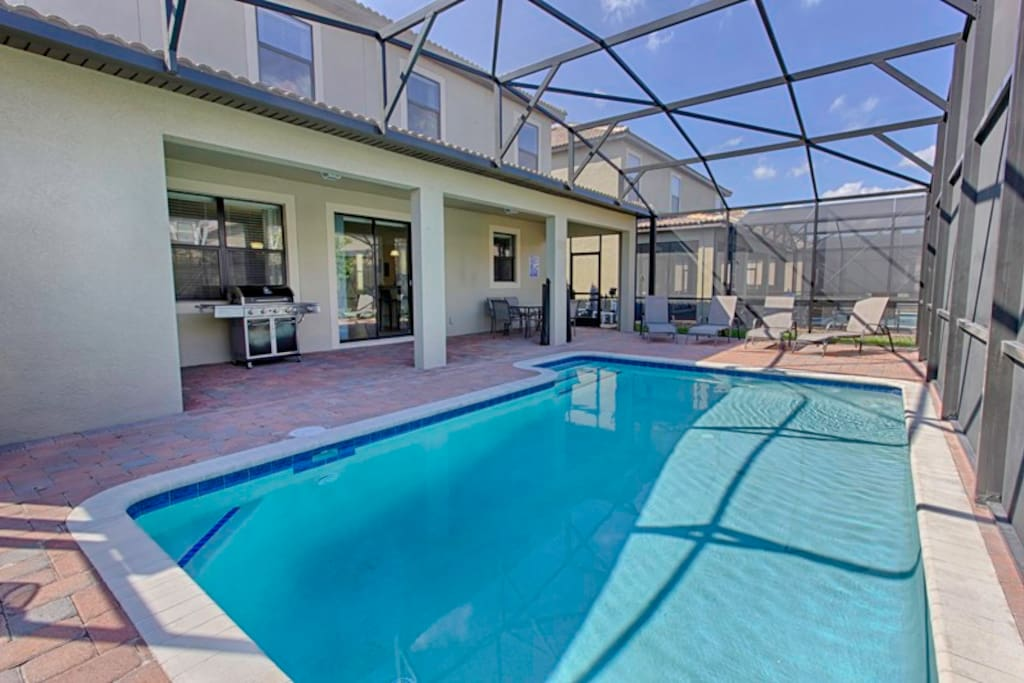 Private Pool and optional BBQ grill (rental charges apply)