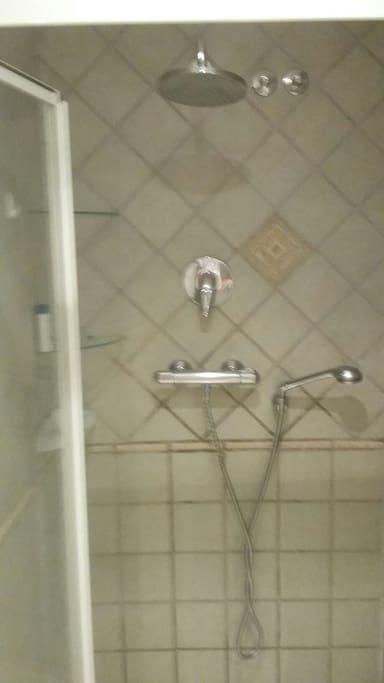 Private bathroom inside room