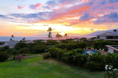 Wailea Ekolu 180˚ Ocean View Condo - Wailea-Makena - Condomínio