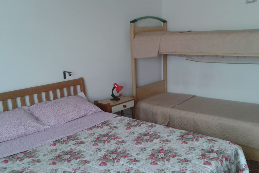 Green Room, 20 square meters with 4 places bed