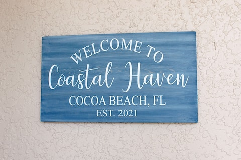 NEW! Coastal Haven -- Steps to the Beach