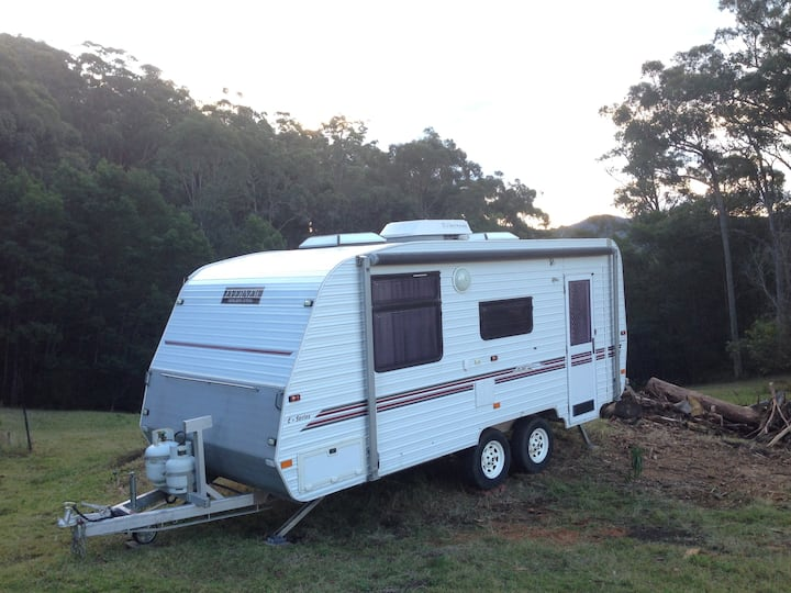 Kangaroo Bush Holiday Luxury Caravan for family 3