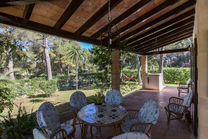 Great and quiet villa close beach with garden 8 p - Cielo de Bonaire - Dům