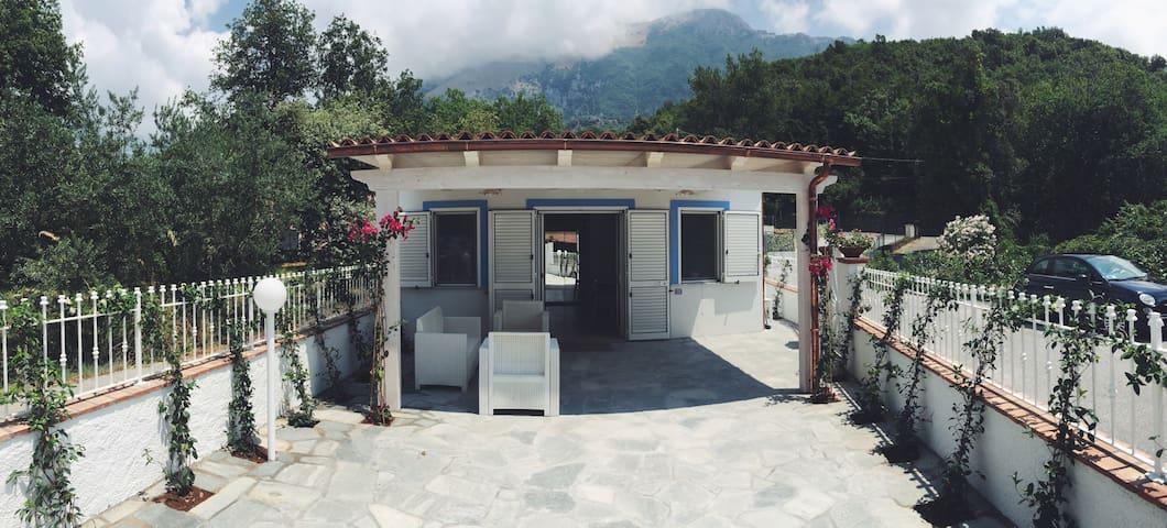 Graziosa Villetta con patio esterno - Maratea - Huis