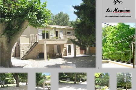 Gîte en plein cœur de la Provence - Orgon