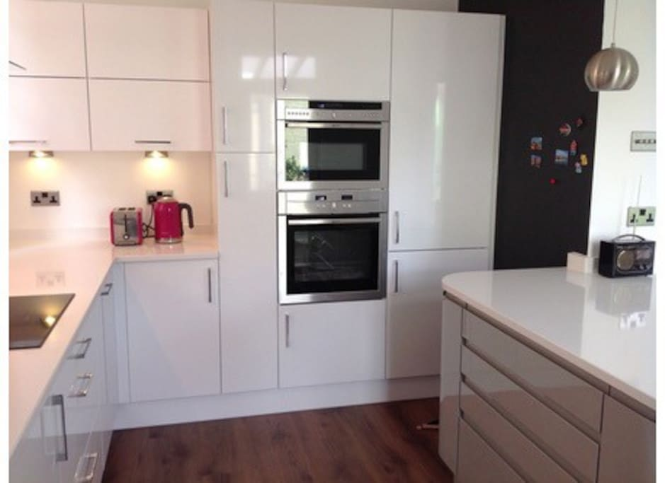 Modern new kitchen.