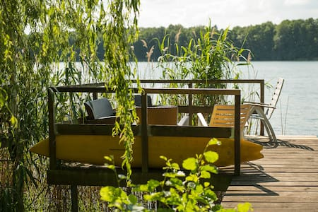Lakehouse, private Dock, 30 min. to Downtown - Berlijn