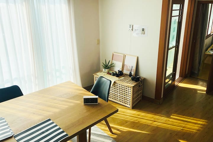#Mountain view -Zen retreat- female single room