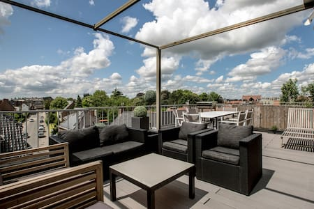 Penthouse with private roofterrace - Roeselare