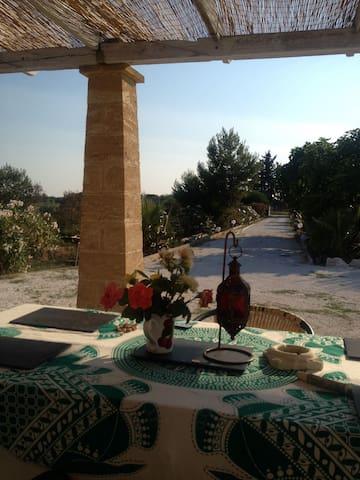 Villa Maylia  -Salento-Puglia-Italy - San Pancrazio Salentino - Casa de camp
