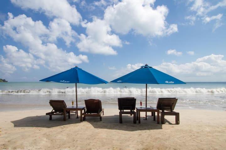 Romantic villa w' private pool+B'fast+Close Beach