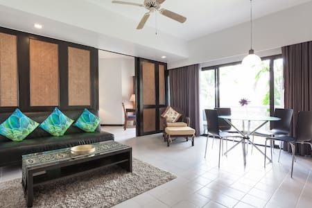 Spacious Waterfront 1-BR Apartment, Laguna Phuket - 承塔莱(Choeng Thale)