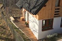 Cottage exterior (autumn)