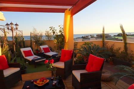 Traum-Penthouse, großes Sonnendeck mit Meerblick - Vélez-Málaga - Apartament