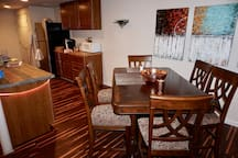 Guest Kitchen & Dining Area