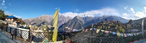 2 Deluxe room | Magical Himalayan view | Kalpa