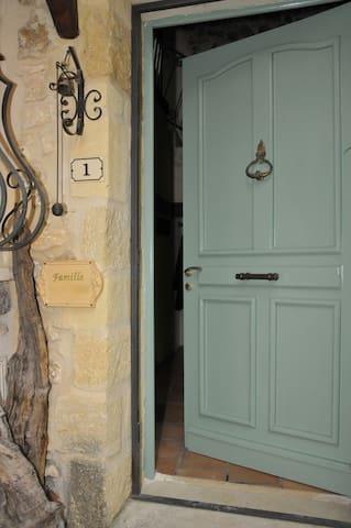 Charaktervolles Steinhaus in La Capelle (Uzès) - La Capelle-et-Masmolène - Casa