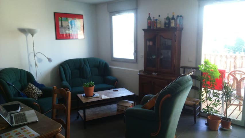 Quiet rooms, last floor, view on the Moucherotte - Fontaine - Apartment