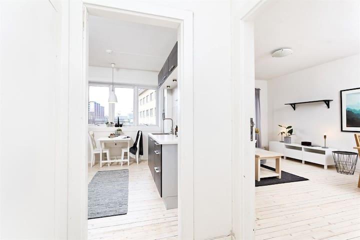 Łomża urokliwy apartament dla 4 podróżników - Łomża - Apartment