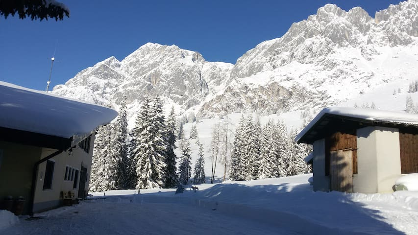 Great location in the Austrian Alps