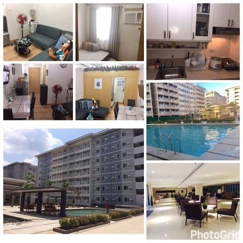 Fully furnished Condo close to Malls -Quezon city