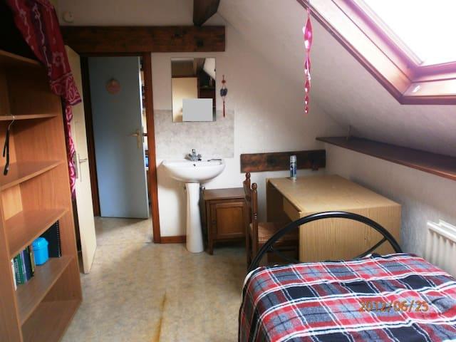chambre chez l'habitant - Tournai - Bed & Breakfast