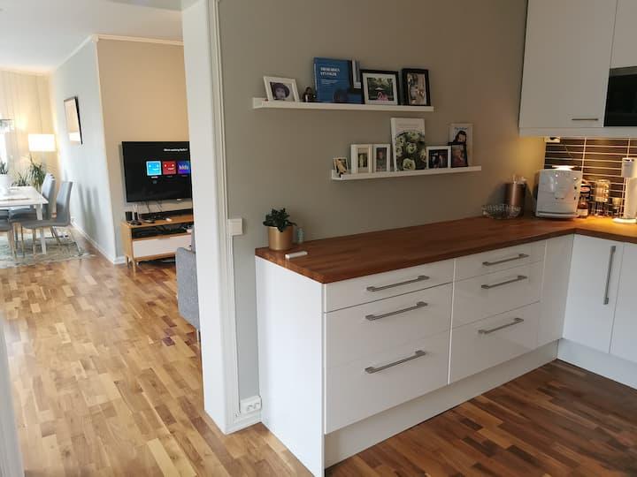 Flott og moderne leilighet i Levanger