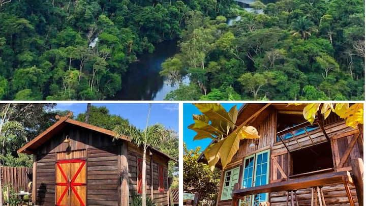 Cabana e Celeiro, Serra das Araras/RJ Lago Caiçara