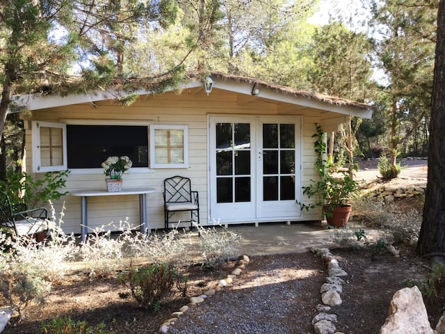 little wooden cottage - Ibiza - Huis