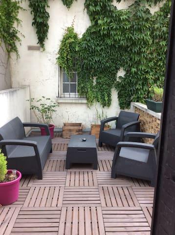 Bel appartement T2 avec terrasse - 布洛涅—比揚古 - 公寓