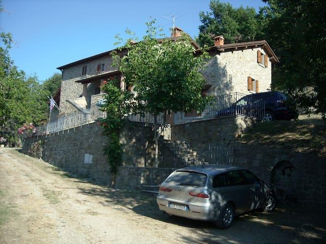 RESIDENZA LA CAPANNINA, Toscana, IT - Pratovecchio-Stia - Byt