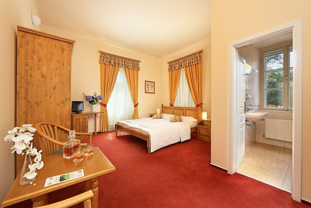 This is one of our deluxe rooms, this particularly is room No. 2 :-)