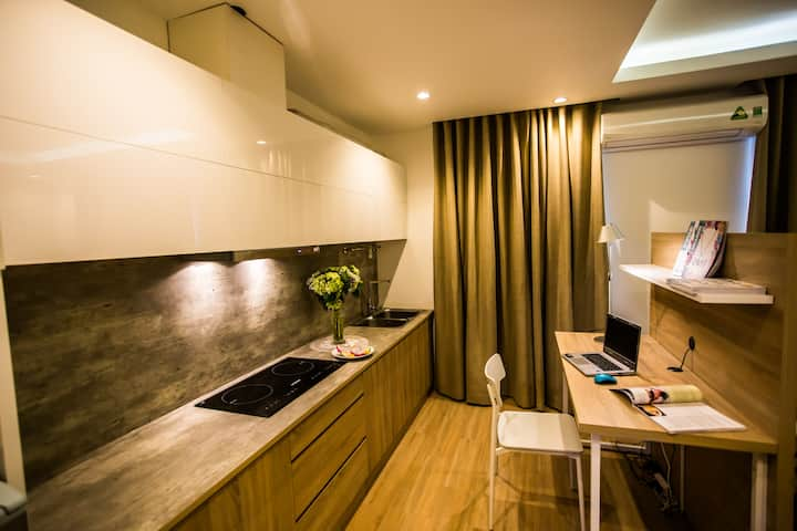 1 Bed Room Apartment - Phu My Hung( Free Laundry )