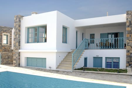 Luxury Villa with Private Pool & superb sea view - Mochlos - 別墅