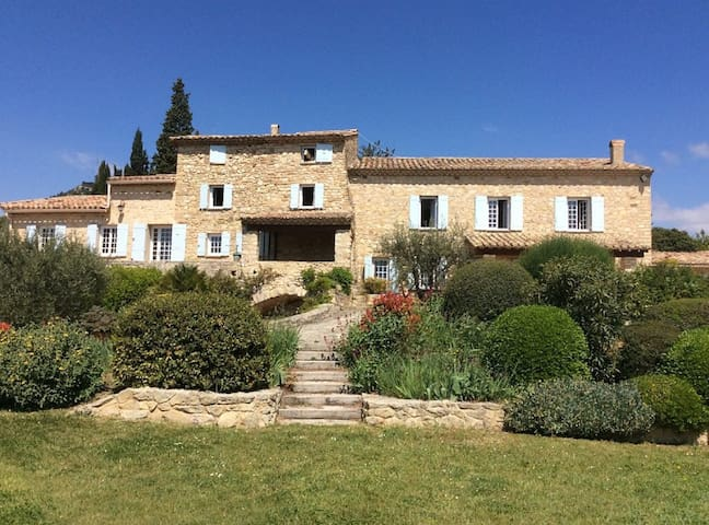 Charming mas stonewok close to the Ventoux - Caromb - Casa de férias