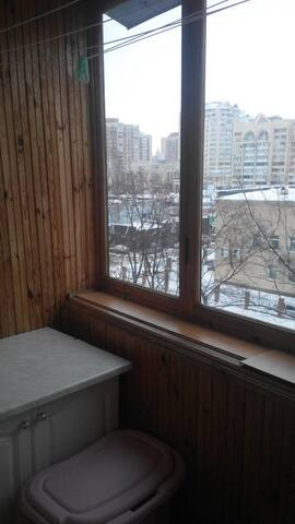 1 room flat on obolon - Kiev - Apartamento