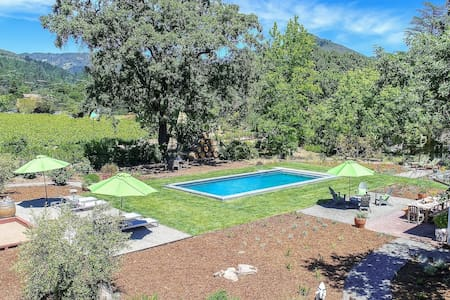Sonoma Vineyard Home With Pool & Stunning Views