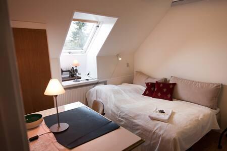 Nordvendt lille værelse på 1. sal i gl. skole - Nibe - Bed & Breakfast