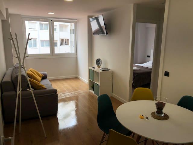 Moderno y céntrico apartamento con WIFI