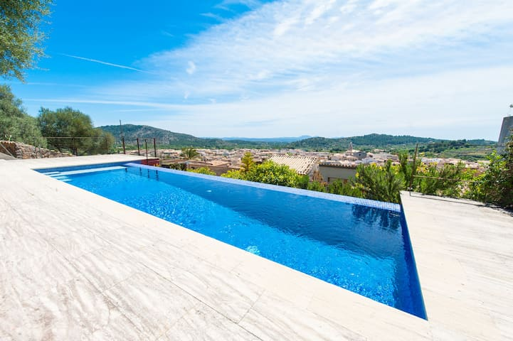 Soler - Romantic villa with pool and mountain view - Alaró