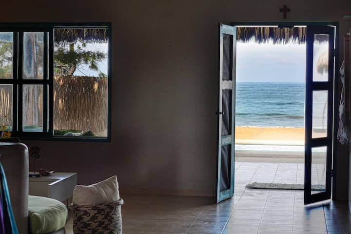 Titi house Pacoa - Frente al mar con piscina!!
