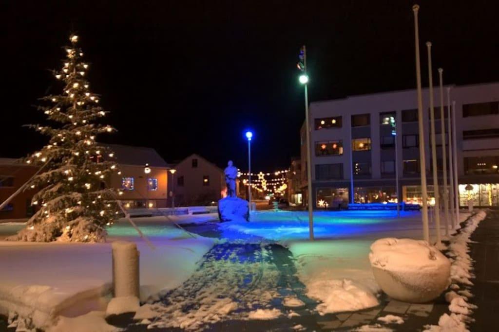 Akranes square